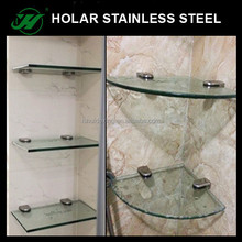 304 Stainless Steel StairCase Balustrade Glass Clamp