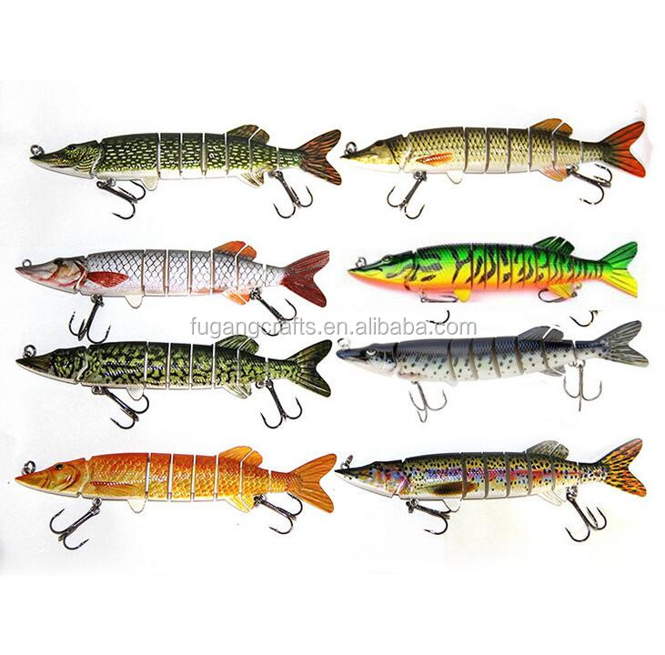 20CM 65G Wholesale High Quality Multi Jointed Lure Pike