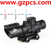 Riflescope for outdoor shooting target 4x32 rifle scope tactical hunting parts