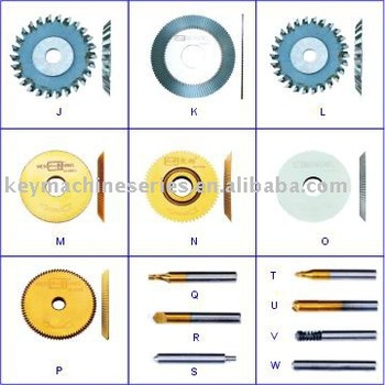 Cutters for Key Cutting Machines, key machine spare parts