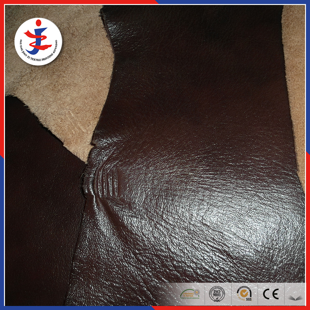 Superb quality upholstery embossed genuine cow leather meter