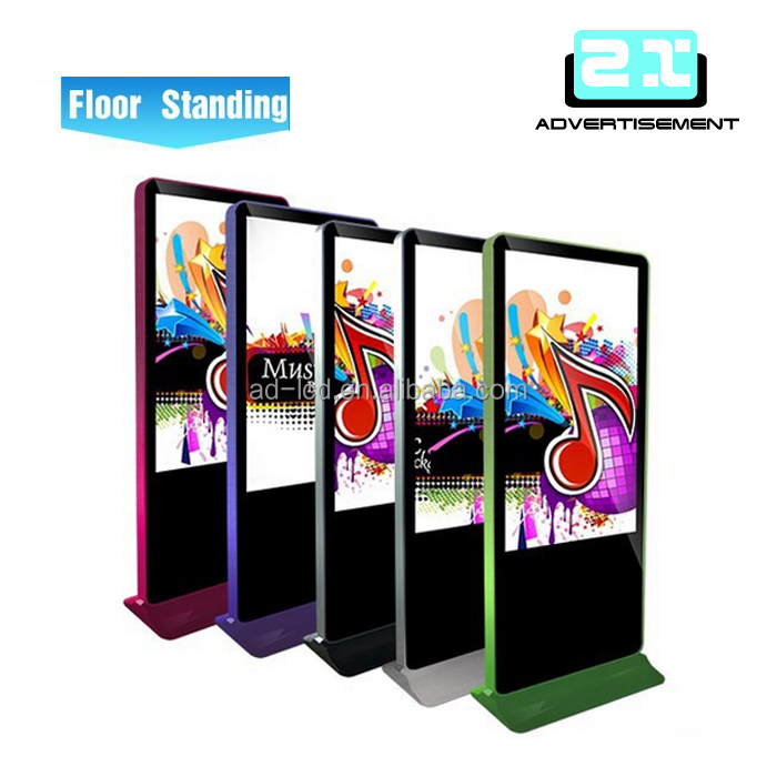 40 inch advertisement stand electronic displays usb sd players board