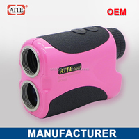 6*24 400m Laser rangefinder with pinseeking and slope measure function golf cruiser