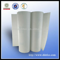 White synthetic filter fabric/air filter fabric for sale
