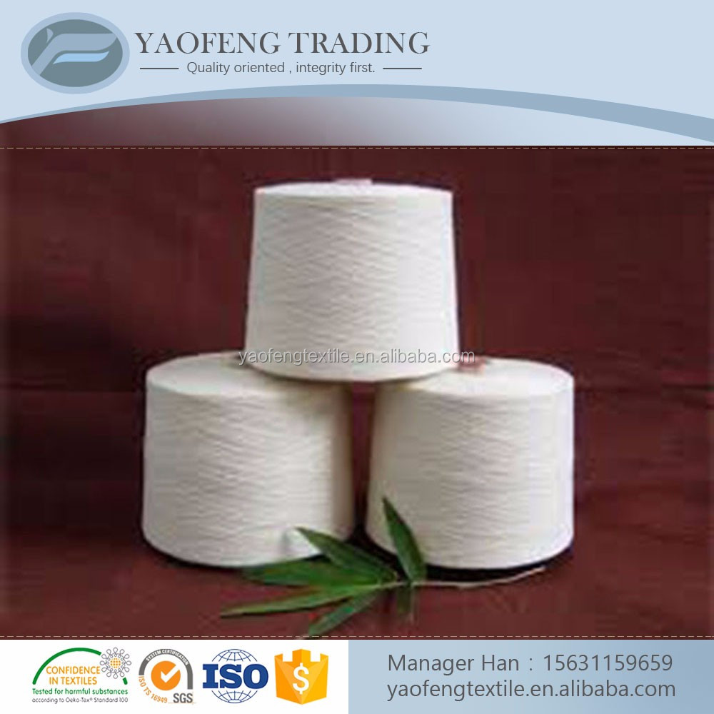 Buy 100% super bright polyester yarn manufacture