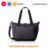 Affordable Durable High-quality Simple Dark Grey Travel Handbag with Front Pocket for All People