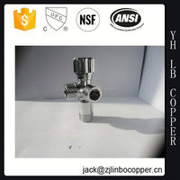 brass angle valve/floor filler/popular style bib cock two way taps