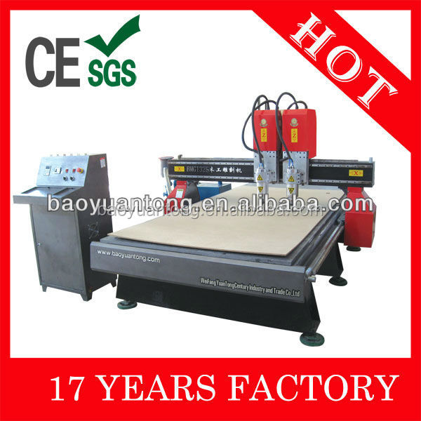 BMG-1325 II 3d Woodworking CNC Router Machine for Making Doors 1325