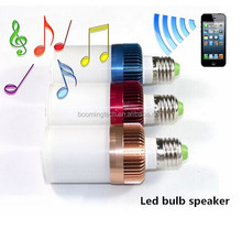 2015 innovation designed led bulb with bluetooth speaker