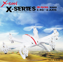 MJX X800 2.4G 6-axis Aircraft G-sensor Helicopter 6CH RC Drones with 3D Flip