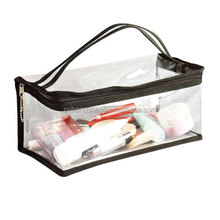 PVC clear mesh cosmetic bag for Promotion