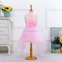 fancy pink straps ball gown dresses for girls of 10 years old