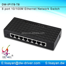 5 / 8 port 10/100Mbps Desktop Ethernet SOHO Switch
