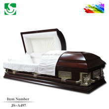 solid wood wholesale best price last supper fixed casket