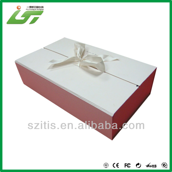 Fancy clear sweet gift box packaging with custom design