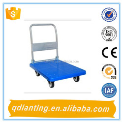 heavy duty plastic tool hand trolley /hand push car