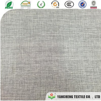 300D linen fabric based 80g art paper total weight is 290gsm for box cover