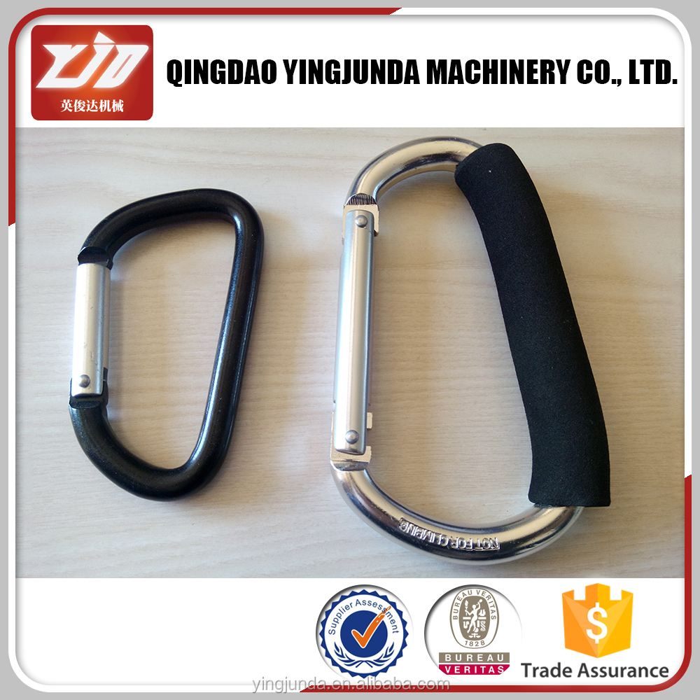 factory price aluminum snap hook d ring snap hook wholesale
