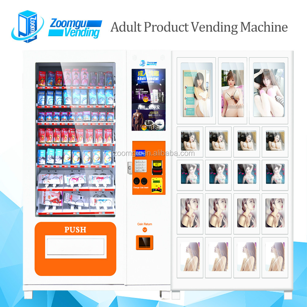 High Quality Combo Durex Condoms Vending Machine ZG-S800-10C(22SP)+19S