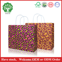 2016 New Product luxury fancy paper gift bag for woman shopping
