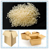 High bond intensity hot melt adhesive for carton sealing