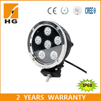 2015 new product 7inch 60w led driving lights for Polaris RZR LED