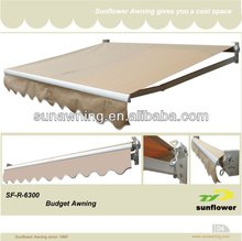 Aluminum electric sunshade
