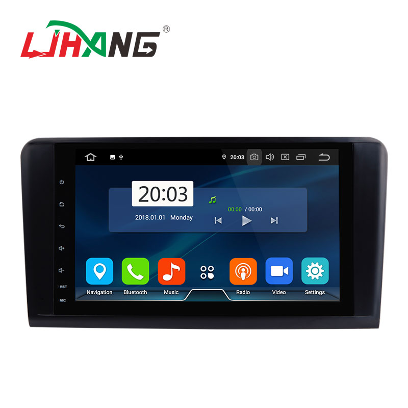 LJHANG 9inch <strong>Android</strong> 9.0 4+32G car radio dvd player for Mercedes Benz ML350 ML320 <strong>W164</strong>