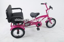 Cheap tricycle/cargo trike with rear seat for teenager GW7013-H