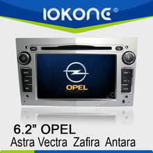 "6.2"" HD Touch screen usb car radio for opel astra with GPS, ipod, usb, dvd, camera, dvb-t"
