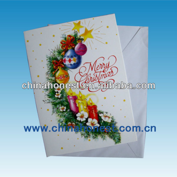 greeting card printing/eid greeting card/heart shape greeting card
