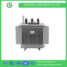 100kva Oil immersed 3 phase transformer step up transformer