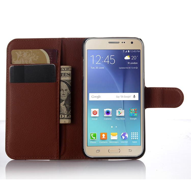 New Multifunction Wallet Flip PU Leather Case Cover For Samsung galaxy J3J5J7