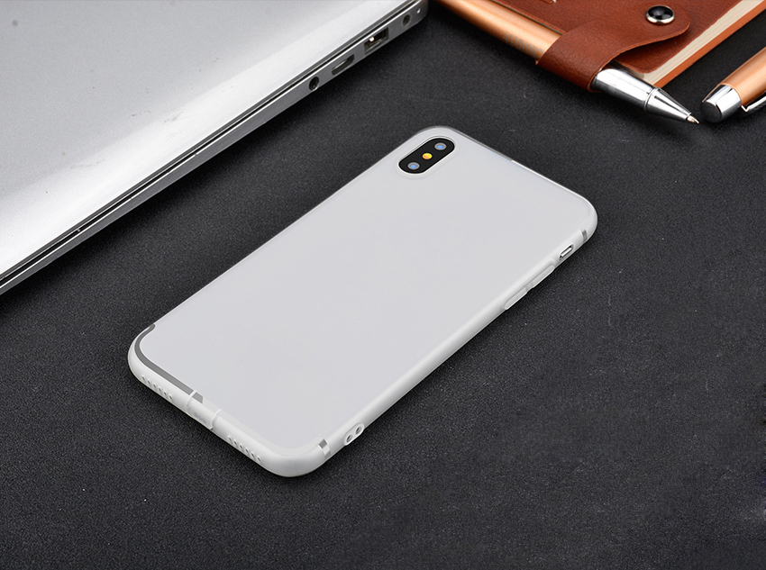 Factory production, customized packaging logo and products.Wholesale Soft Ultra thin Silicone Mobile Phone Case For iPhone X