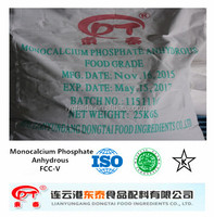 China manufacturer food grade Monocalcium Phosphate Anhydrous MCP Hot Sale