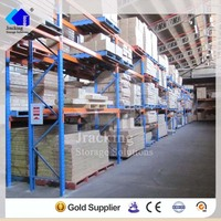 Jracking hardware selective Q345 hot dipped heavy duty industrial galvanized warehouse pallet racking uk