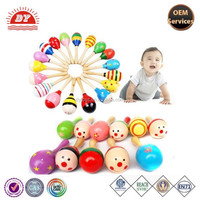 Custom Made Plastic Colorful Maracas Toys