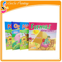 New style colorful pop up childrens books