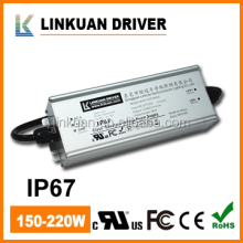 UL/TUC approved constant current waterproof led driver and 250w led power supply