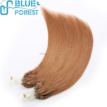 High quality 100% virgin remy human hair micro ring hair weft