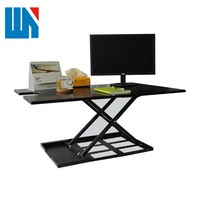 Factory wholesale dual monitor closed tall computer desks