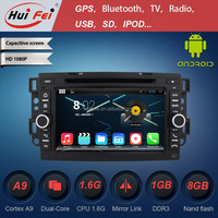 Huifei 1024*600 Capacitive Screen Android 4.4.4 For Chevrolet Captiva Android Car Dvd Cortex A9 Dual Core Mirror Link