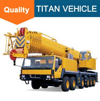 Truck CRANE 100 ton indutrial used truck crane for sale
