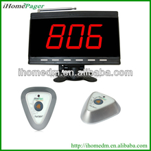 Wireless waterproof electronic number display system