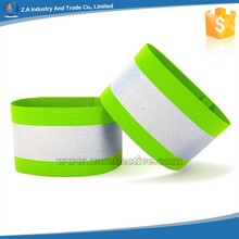 Velcro Elastic Reflective Armband for Safety Sport Equipment