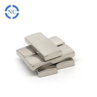 professional manufacturer N42 50x20x8mm super strong Neodymium block magnet