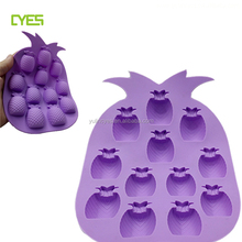 Fancy pineapple magnetic chocolate silicone mould chocolate mould