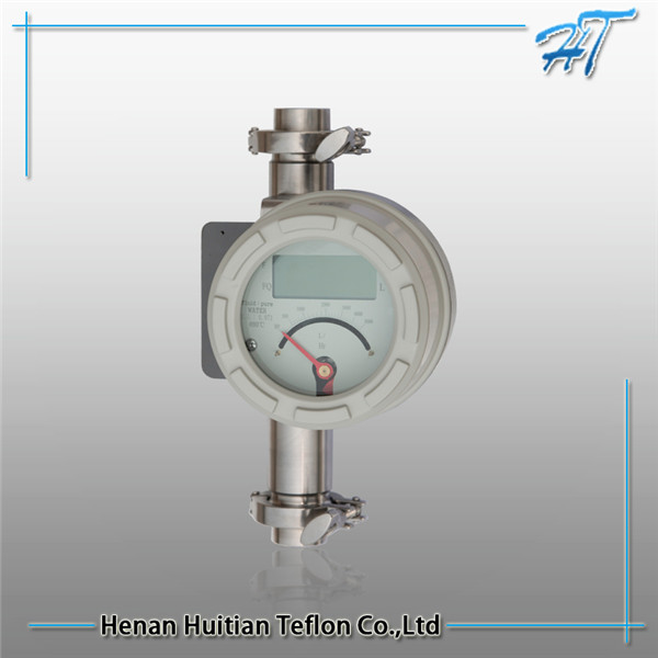 High Accuracy Metal tube rotor flow meter counter