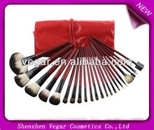 22pcs Red Make up Mineral Brushes 2011 best seller makeup brush sets
