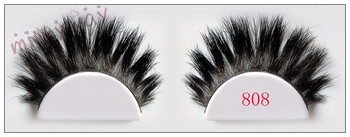 Milkyway professional handcrafted thick long crossing triple layered horse hair lashes